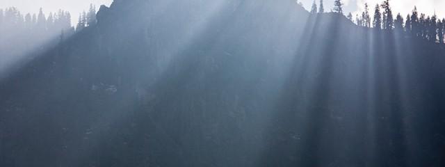 Yosemite Sunbeams, Yosemite National Park