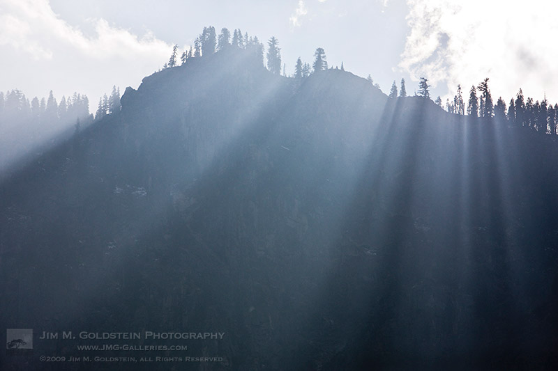 Yosemite Sunbeams, Yosemite National Park