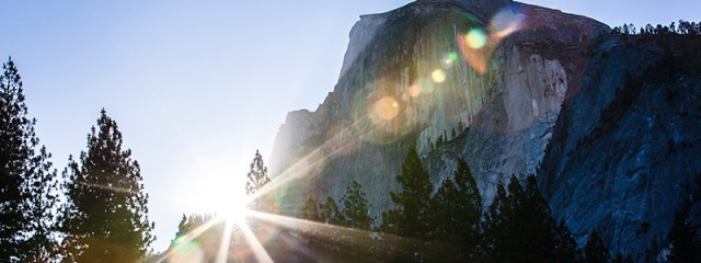 Half Dome Sunrise, Yosemite National Park