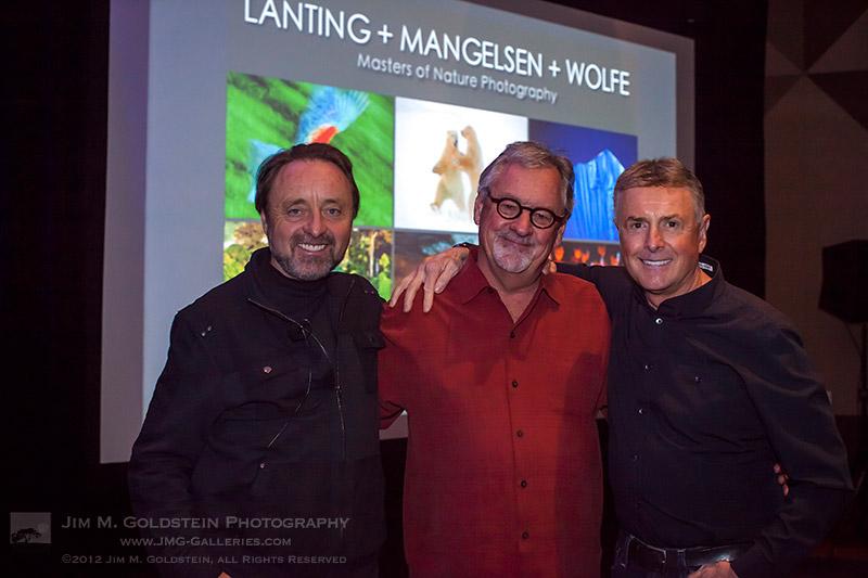 Frans Lanting, Thomas Mangelsen & Art Wolfe