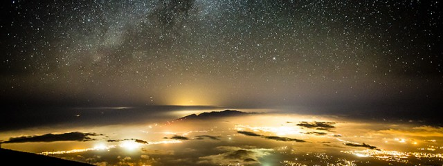 Milky Way Above Maui