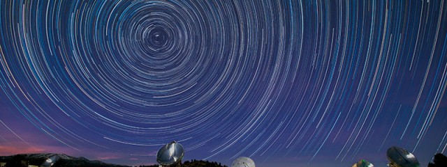 CARMA Star Trails