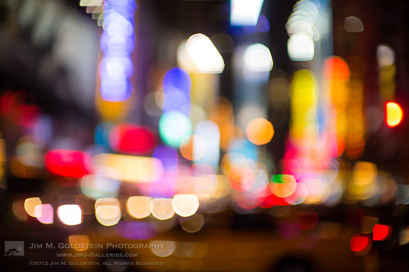 Bokeh City - New York City