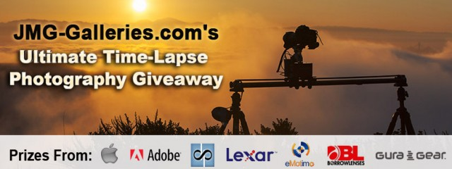 JMG-Galleries.com Ultimate Time-Lapse Photography Giveaway - Over $5000 in Prizes