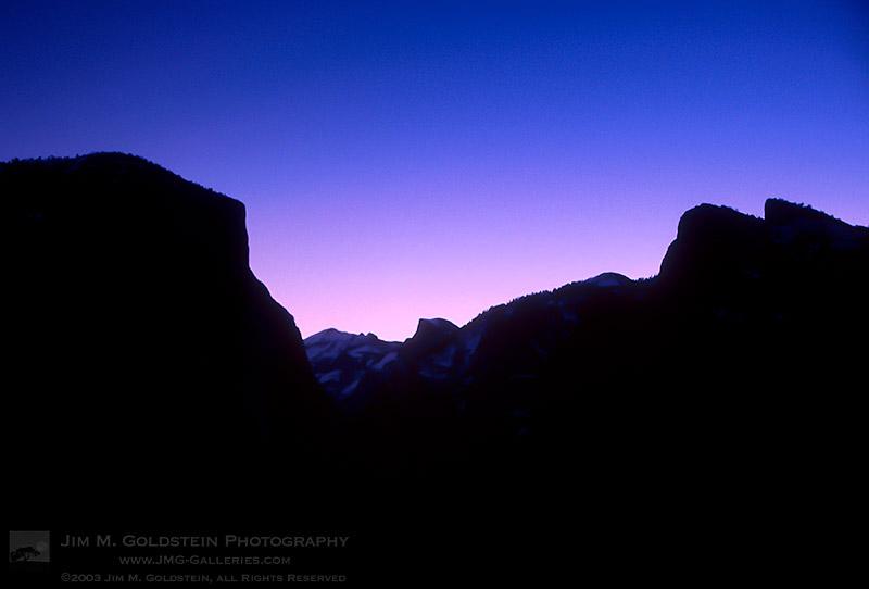 Yosemite Sunrise, Yosemite National Park