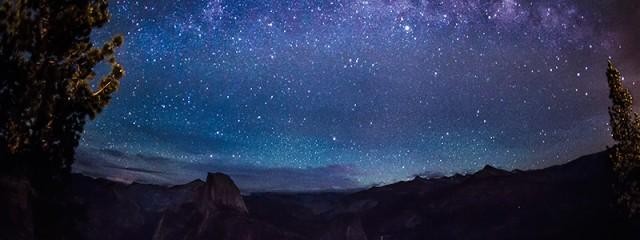 Milky Way Over Half Dome, Yosemite National Park