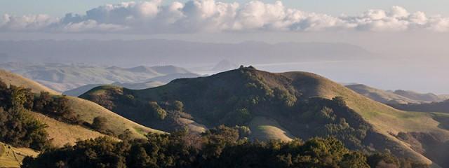 Rolling Hills Near Morro Bay, California