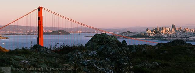 Golden Gate Rocky Edge
