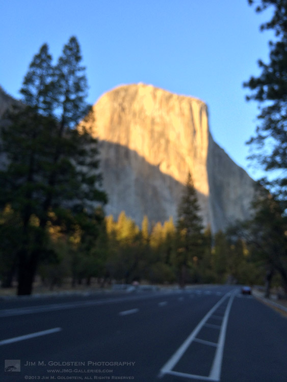 El Capitan - 2013 Federal Shutdown - Yosemite National Park