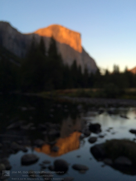 El Capitan Sunset - 2013 Federal Shutdown - Yosemite National Park