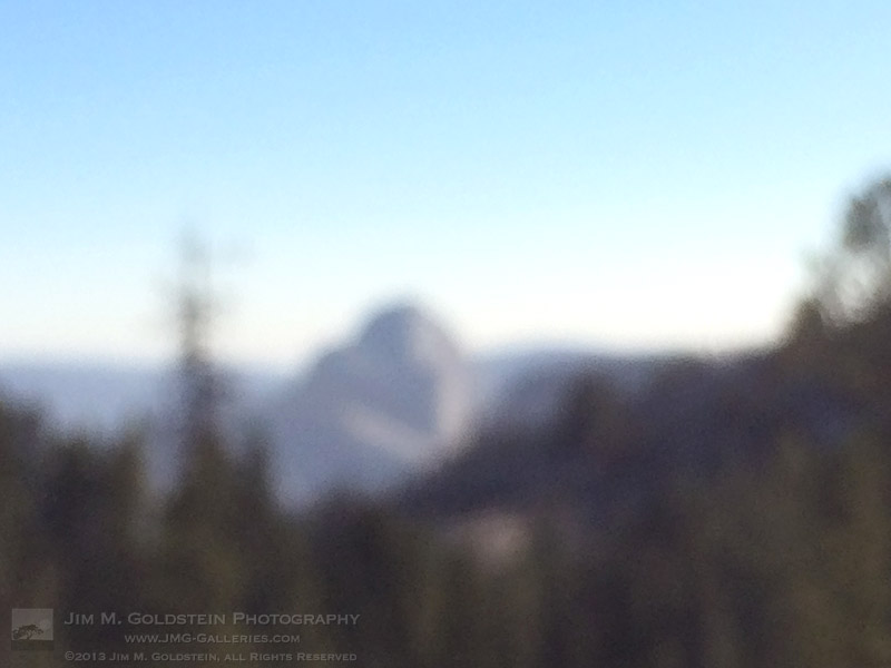 Half Dome from Olmstead Point - 2013 Federal Shutdown - Yosemite National Park