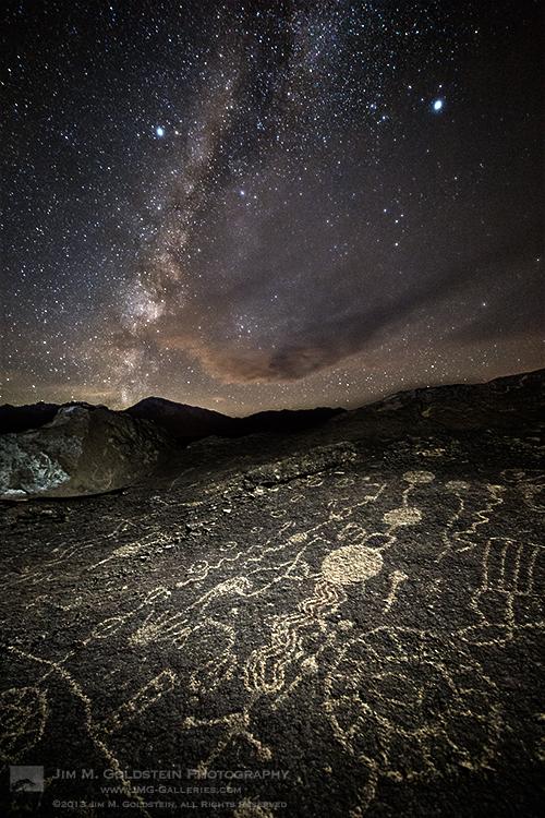 Sky Rock and Milky Way III