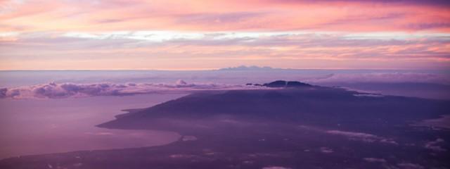Sunset Over West Maui