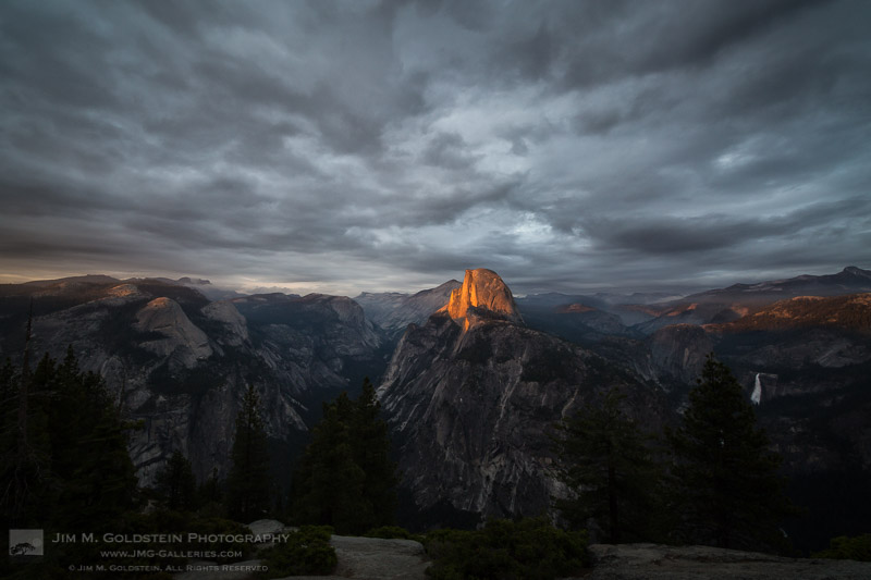 Before the Tempest, Yosemite National Park