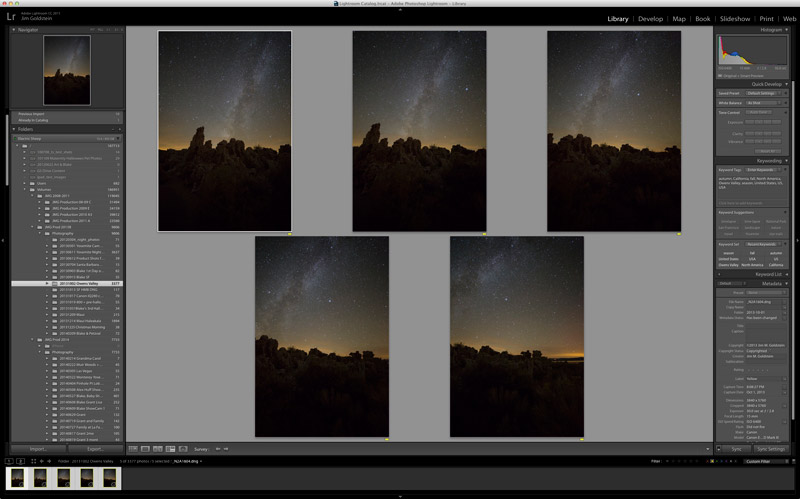 Panoramic Selections