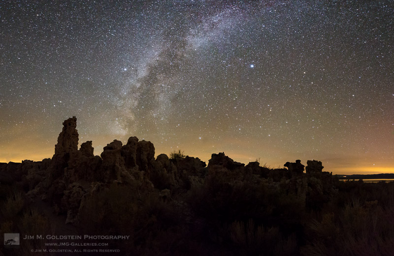 Mono Lake Milky Way Pano