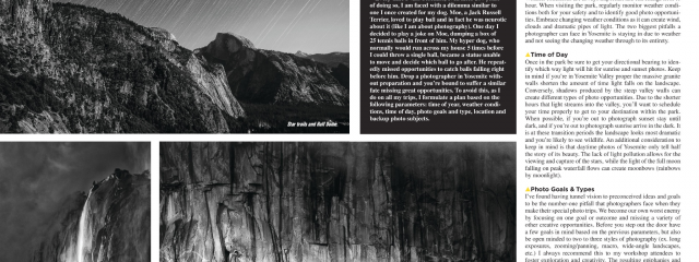 3 Days In Yosemite by Jim M. Goldstein