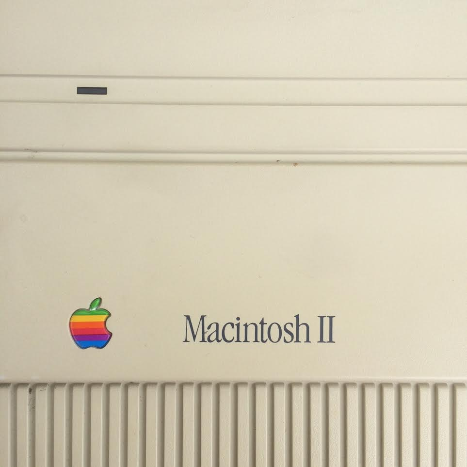 My Old Macintosh 2 (first color Mac)