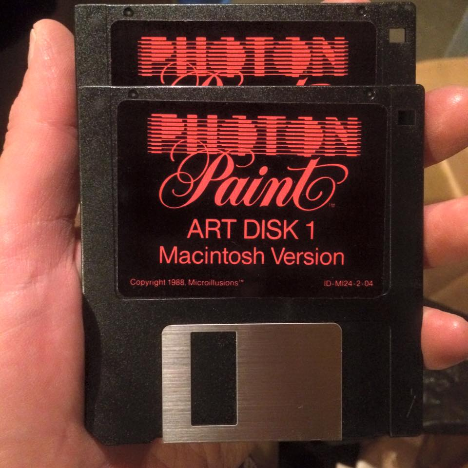 Photon Paint install disks pre-Photoshop 1.0