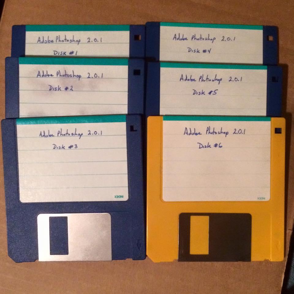 Photoshop Backup Install Disks verion 2.0.1