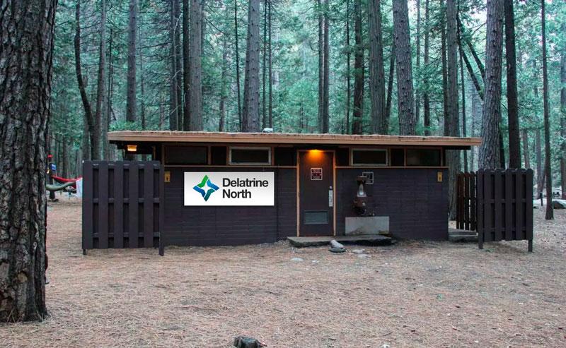 Newly Named Yosemite Bathrooms - Delatrine Norths