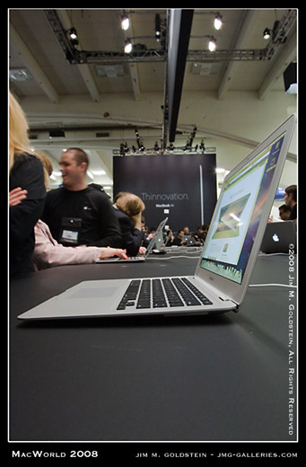 MacWorld Expo MacBook Air Profile