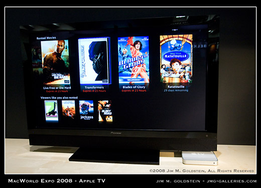 Apple TV Rental Movie Screen