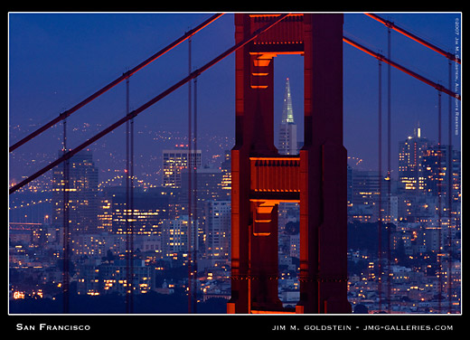 San Francisco by Jim M. Goldstein