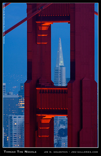 Thread The Needle photographed by Jim M. Goldstein