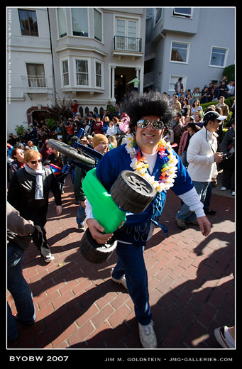 Bring Your Own Big Wheel 2007 - Elvis Photo By Jim M. Goldstein