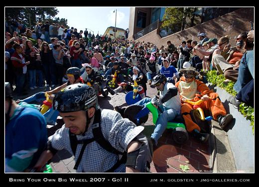 Bring Your Own Big Wheel 2007 - Go! II Photo By Jim M. Goldstein
