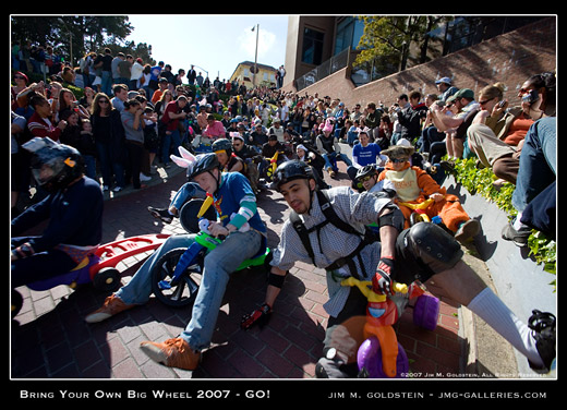Bring Your Own Big Wheel 2007 - Go! Photo By Jim M. Goldstein