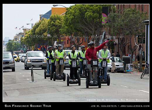 Segway San Francisco Tour photo by Jim M. Goldstein