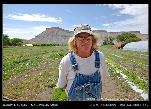 Randy Ramsley of Caineville, Utah owner of Mesa Market