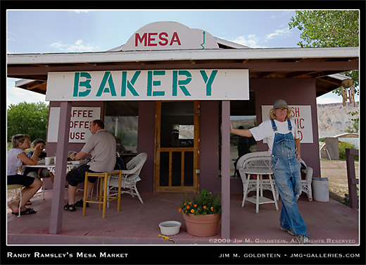 Randy Ramsley's Mesa Market photo by Jim M. Goldstein