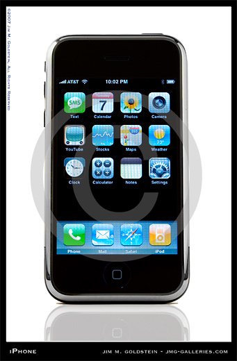 Apple iPhone photo by Jim M. Goldstein
