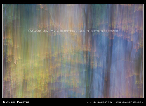 Natures Palette abstract nature photography by Jim M. Goldstein