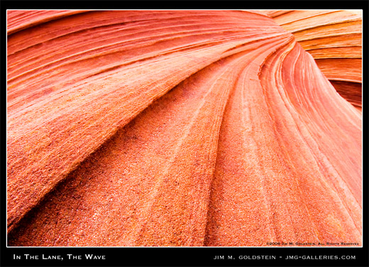 In The Lane, The Wave landscape photo by Jim M. Goldstein