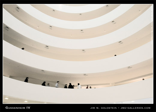 Guggenheim IV, new york, new york city, architecture photo by Jim M. Goldstein