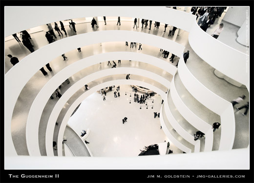 The Guggenheim Museum II photographed by Jim M. Goldstein