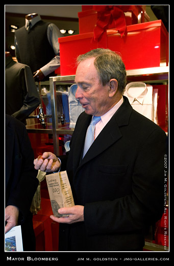 New York City Mayor Michael Bloomberg photo by Jim M. Goldstein