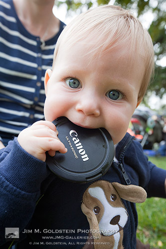 Chewing on my Lens Cap