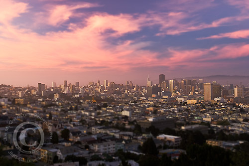San Francisco City View Sunset
