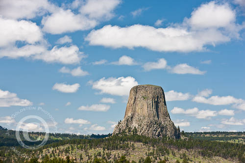 Devil's Tower, Wyoming - Landscape Photo by Jim M. Goldstein