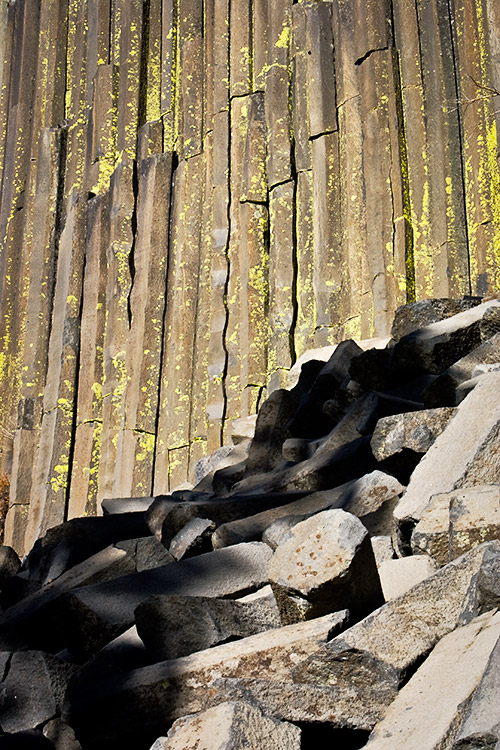 Basalt Column - Devils Postpile National Monument
