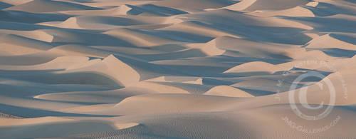 Death Valley Sand Dunes at Sunset