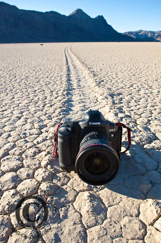 Making Tracks - Racetrack, Death Valley National Park
