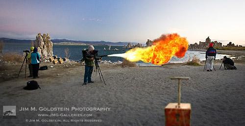 Photographers Behaving Badly at Mono Lake - dramatization by Jim M. Goldstein