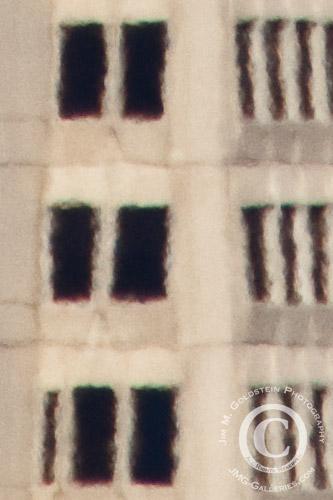 "Atmospheric Distortion Example - Foreground of ""Transamerica Pyramid & Berkeley Hills"" photo"