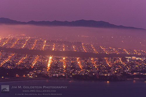 Dusky Fog - San Francisco, California